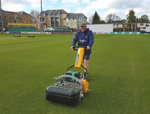 Cub Cadet's Infinicut™ 'technologically advanced' mowers for Essex County Cricket Ground