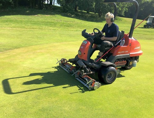 Duo of TMSystem™ cassettes prove the key to fast, true greens at Eaton Golf Club
